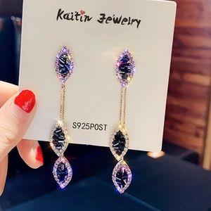 Gorgeous dangling geometric earrings NIP